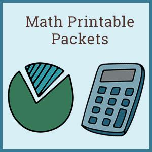 Math Printables