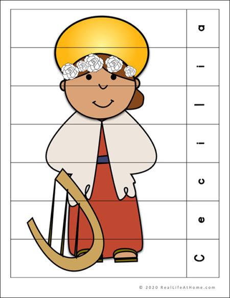 Saint Cecilia Puzzle Page