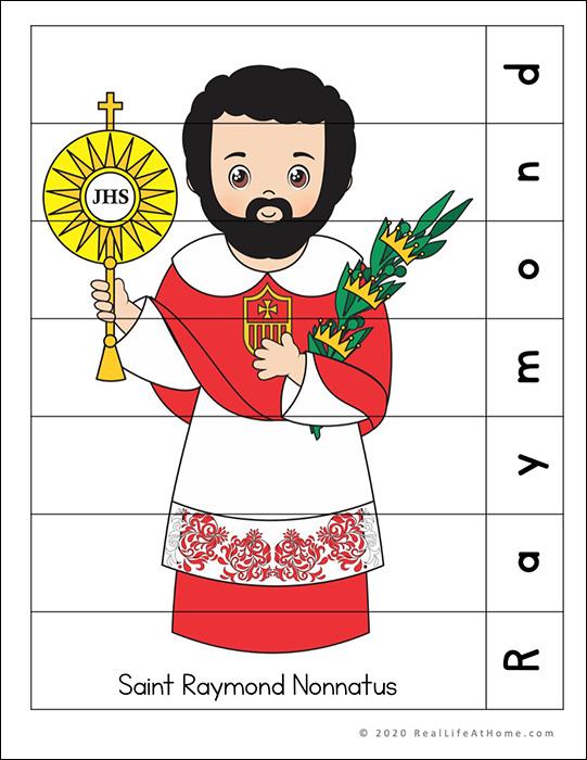 Saint Raymond Nonnatus Puzzle Page