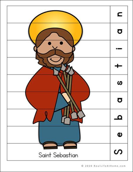 Saint Sebastian Puzzle Page