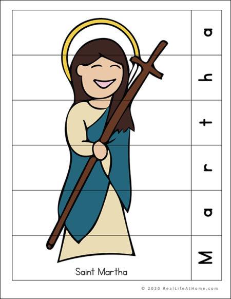 Saint Martha Puzzle Page