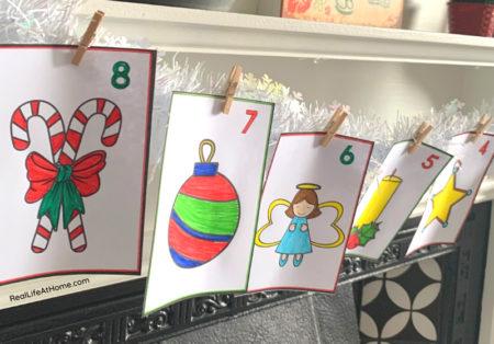 Color Your Own Advent Calendar