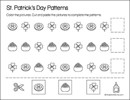Saint Patrick's Day Math Patterns